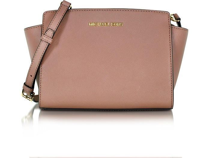 Selma Saffiano Leather Medium Messenger Bag - Michael Kors