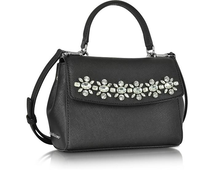 f6c690fdbf86 Ava Jewelry XS Black Saffiano Leather Crossbody - Michael Kors. $159.60  $228.00 Actual transaction amount