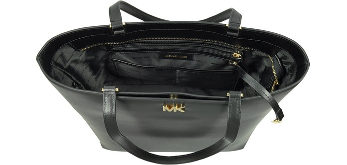 c42784871d50 Mott Medium Black Leather Tote Bag - Michael Kors. AU 255.50 AU 364.99  Actual transaction amount