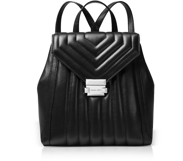 dc44ab286f90 Michael Kors Whitney Quilted Leather Backpack at FORZIERI UK