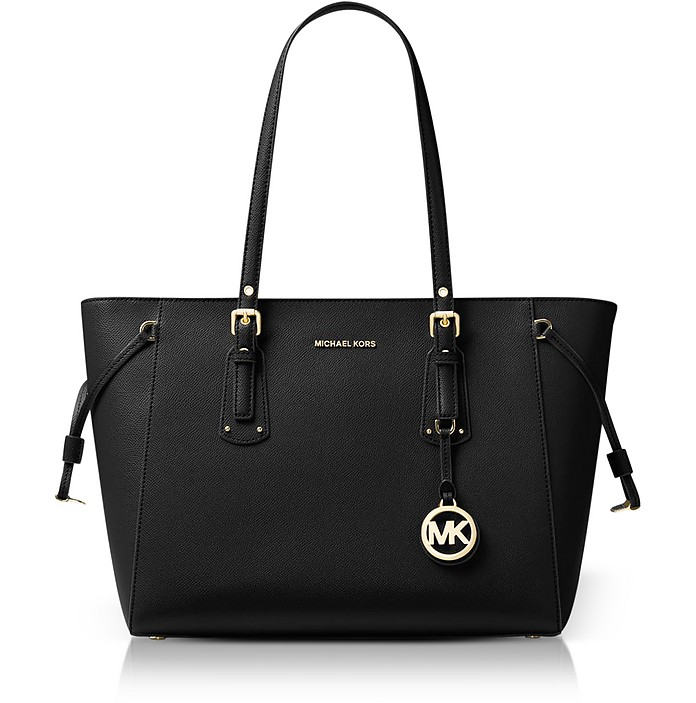 Voyager Medium Leather Tote - Michael Kors