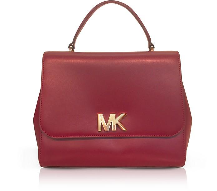 Mott Medium Leather Satchel Bag