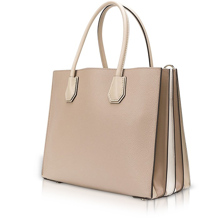 412a9b0dfd09d3 Michael Kors Mercer Large Pebbled Leather Accordion Tote at FORZIERI UK