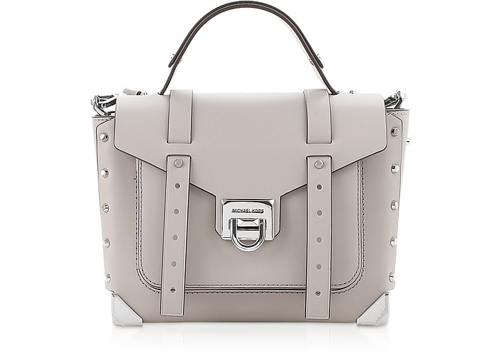 Manhattan Medium Satchel Bag - Michael Kors