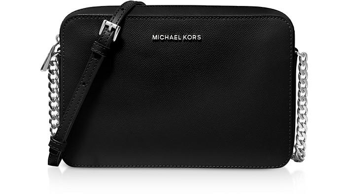 Jet Set Large Saffiano Leather Crossbody Bag - Michael Kors