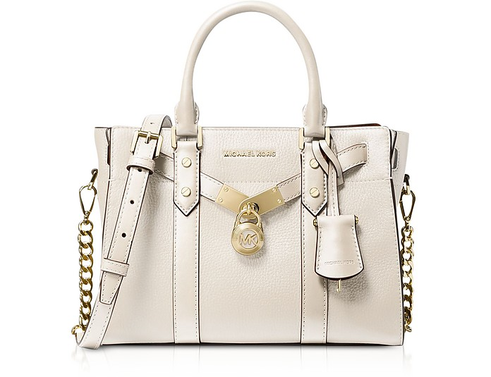 Nouveau Hamilton Small Pebbled Leather Satchel - Michael Kors