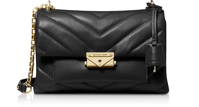 Cece Medium Quilted Leather Convertible Shoulder Bag - Michael Kors