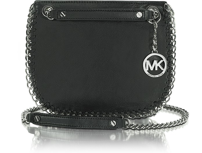 Michael - Chelsea Small Leather Messenger Bag - Michael Kors