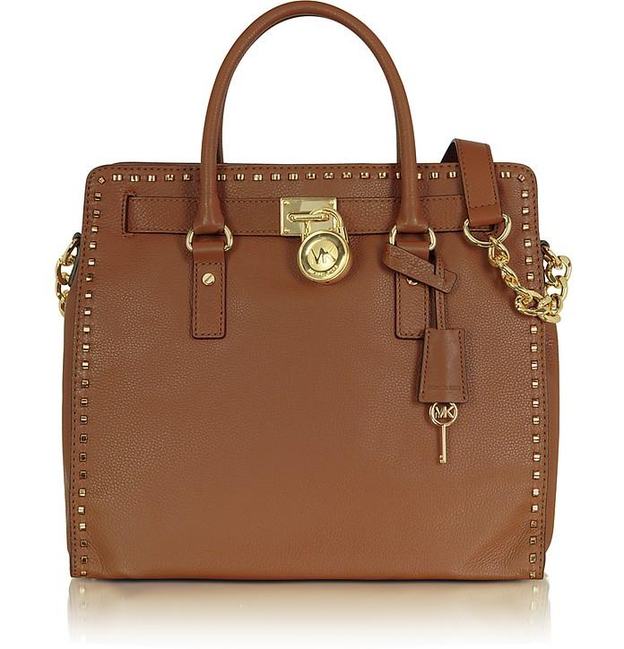 Michael - Hamilton Whipped Leather Tote Bag - Michael Kors