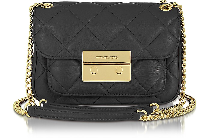 Small Sloan Quilted Shoulder Bag  - Michael Kors