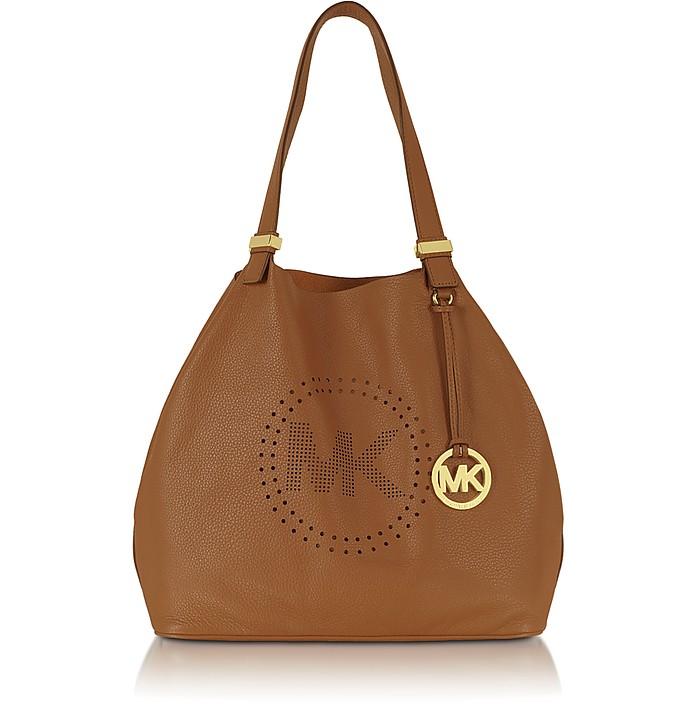 Perforated-Logo Grab Bag - Michael Kors