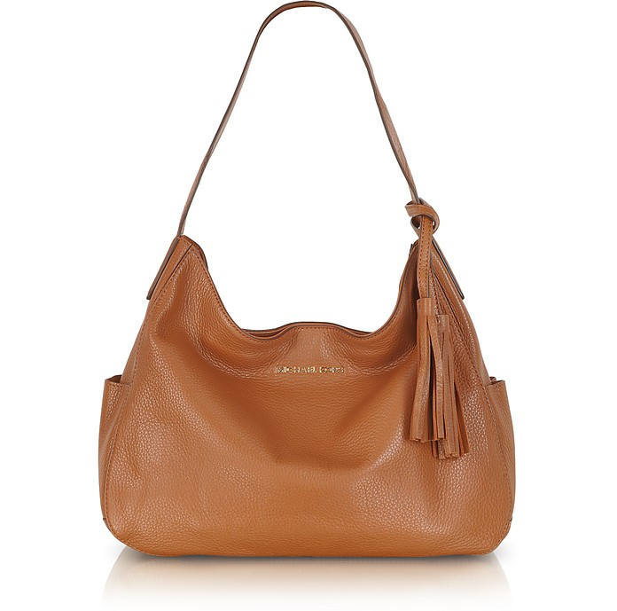 Ashbury Pebbled Leather Shoulder Bag - Michael Kors