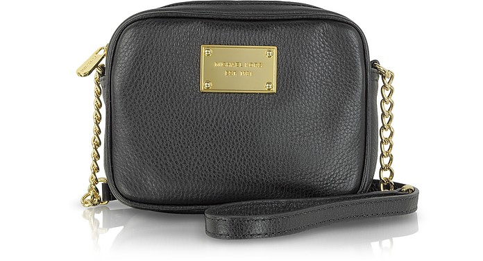 Jet Set Item Leather Crossbody Bag - Michael Kors