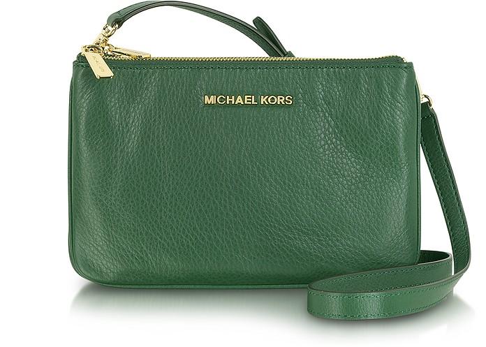 2f2689fb499837 Michael Kors Malachite Bedford Gusset Crossbody Bag at FORZIERI ...