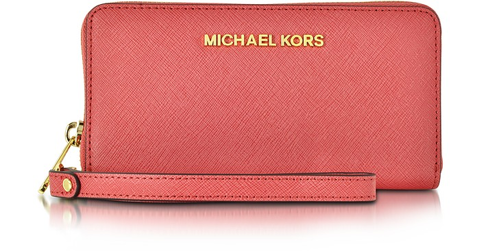 Jet Set Travel Large Phone Wristlet for iPhone and Samsung - Michael Kors