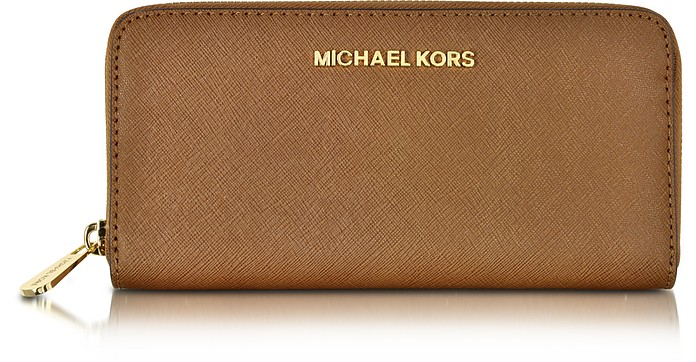 573b81c9517c Luggage Jet Set Travel Saffiano Leather Continental Wallet - Michael Kors