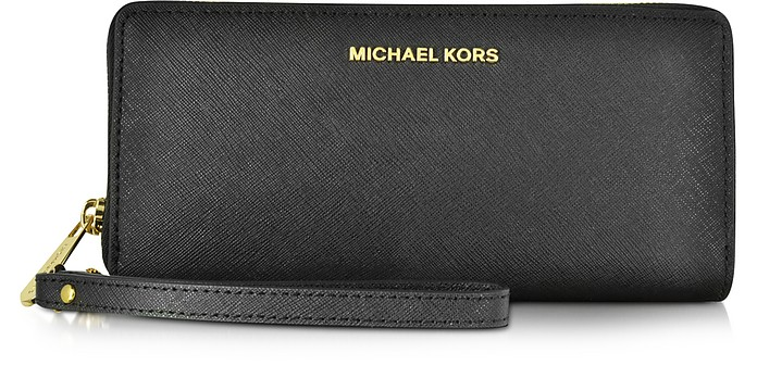 Jet Set Travel Grande Cartera Continental en Piel Saffiano - Michael Kors