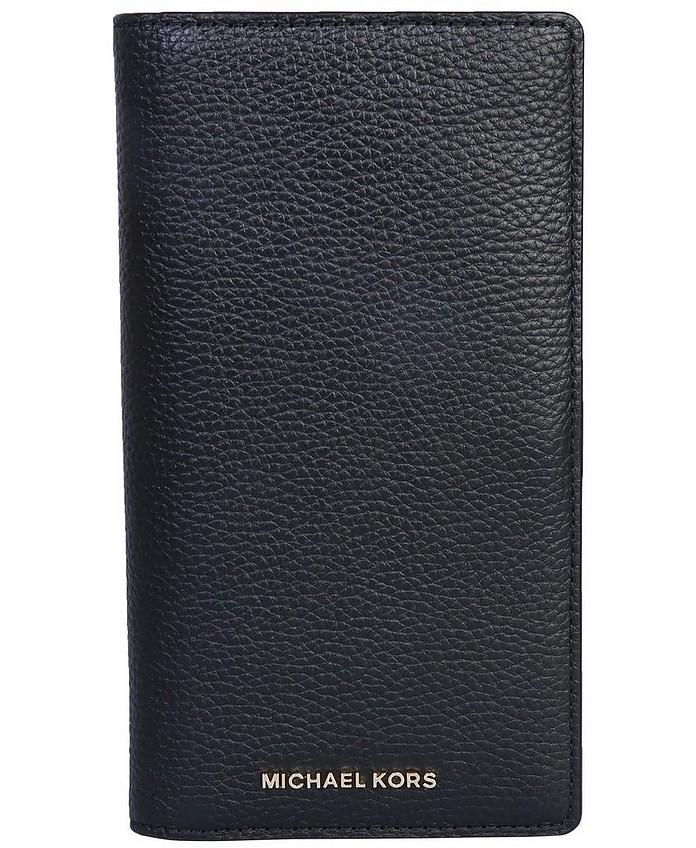 Passport Wallet With Logo - Michael Kors