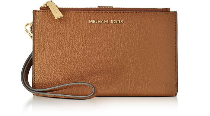 0223f85212ee Michael Kors Adele Acorn Pebble Leather Smartphone Wristlet at ...