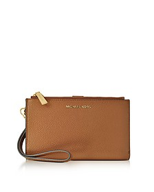 Adele Acorn Pebble Leather Smartphone Wristlet - Michael Kors