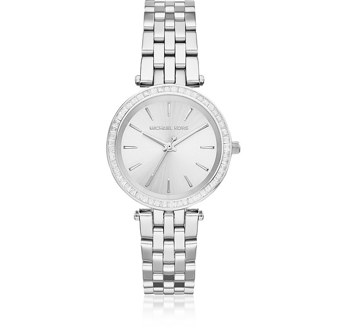 Mini Darci Silver Tone Women's Watch - Michael Kors