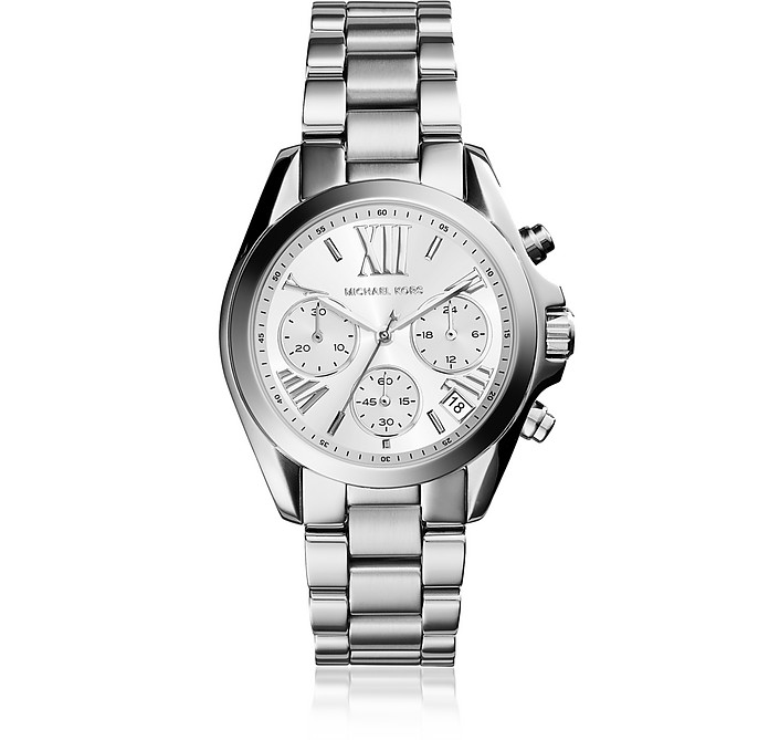 Mini Bradshaw Silver Tone Women's Watch - Michael Kors