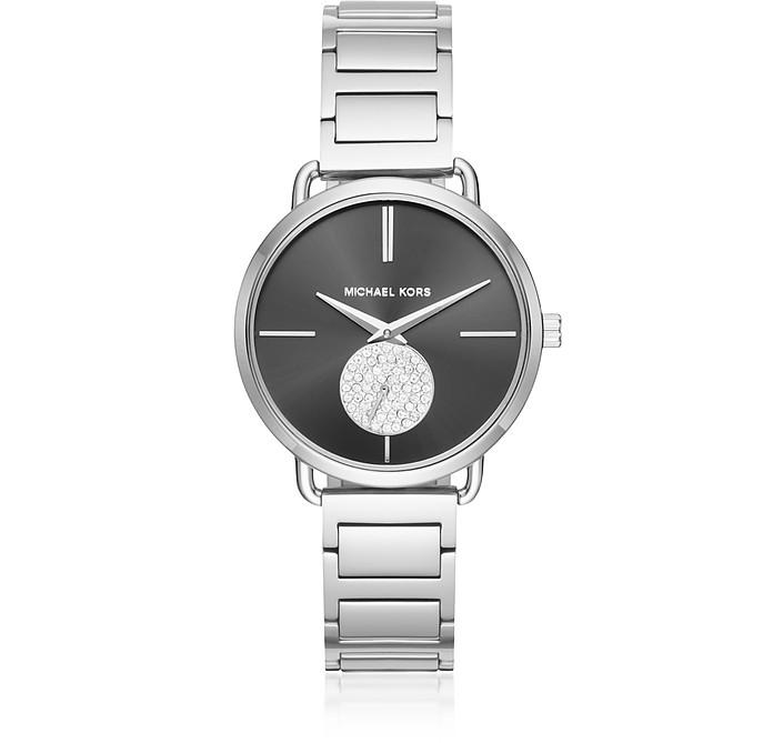 Portia Silver Tone Women's Watch - Michael Kors