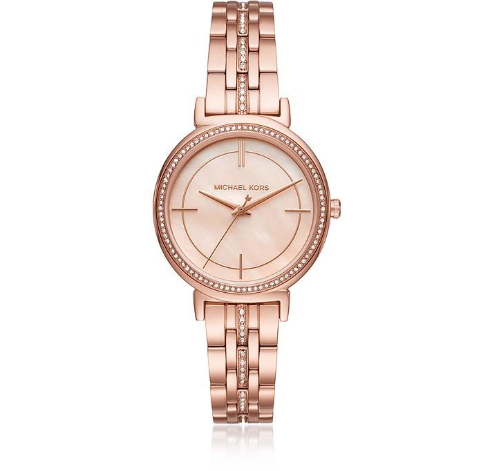 Cinthia Rose Gold-Tone Women's Watch - Michael Kors