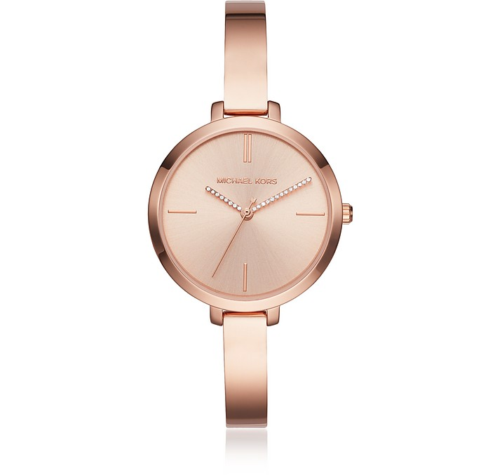 Jaryn Rose Gold Tone Women's Watch - Michael Kors