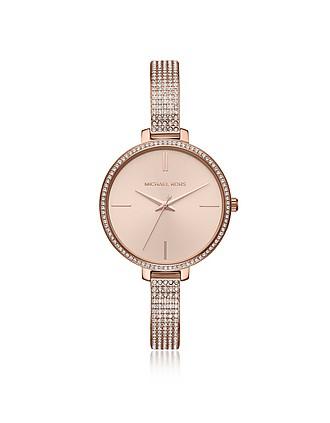 69b2635560df Jaryn Pavé Rose Gold Tone Women s Watch - Michael Kors