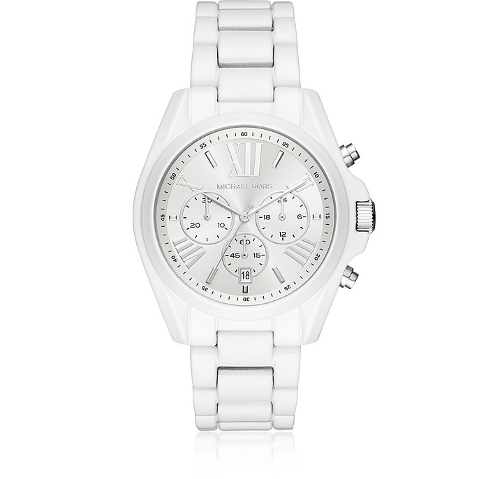 Bradshaw White Coated Women's Watch - Michael Kors