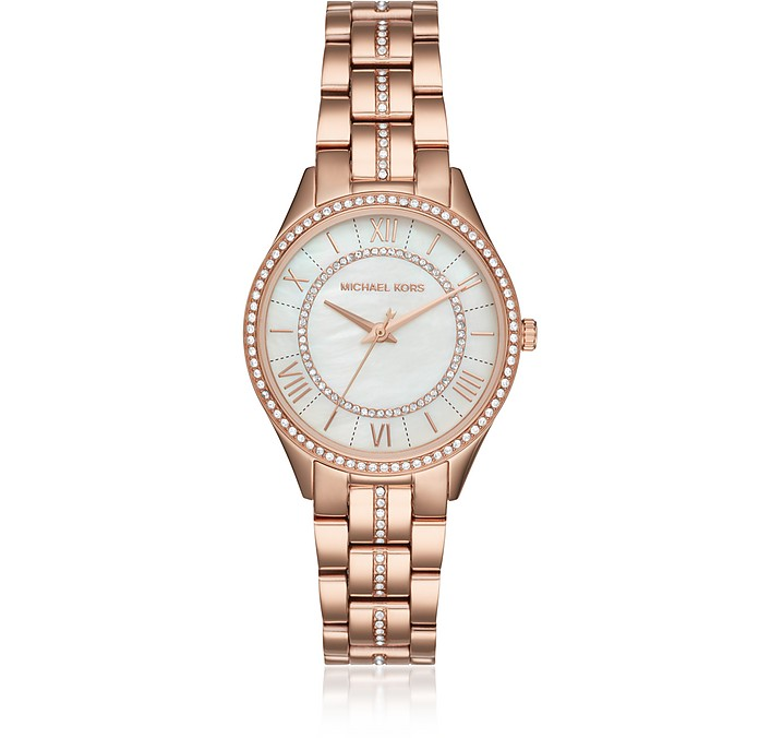 Lauryn Rose Gold Tone Women's Watch - Michael Kors