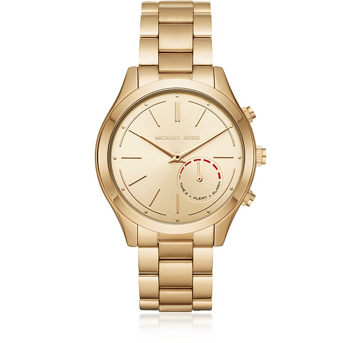 Slim Runway Gold Tone Women's Smartwatch - Michael Kors / マイケル コース