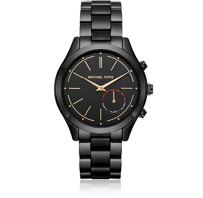 Slim Runway Black Tone Women's Smartwatch - Michael Kors