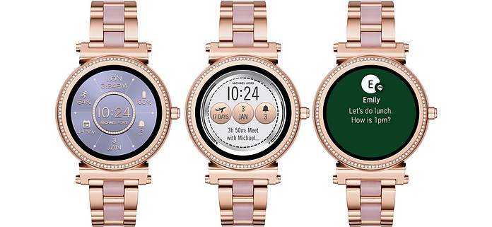 ... Smartwatch touchscreen tonalità oro rosa e acetato Access Sofie - Michael  Kors. Sold Out 6896740499