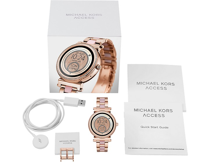 Michael Kors Michael Kors Access Sofie Rose Gold-Tone and