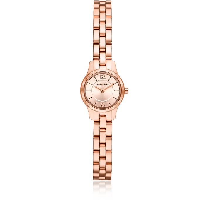 Petite Runway Rose Gold-Tone Watch - Michael Kors