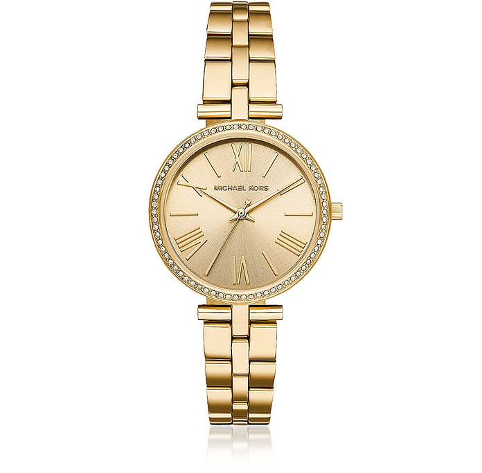 Maci Gold Tone Watch - Michael Kors