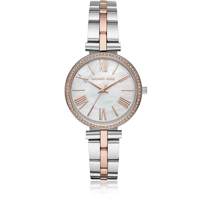 Maci Two Tone Watch  - Michael Kors
