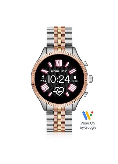 三色不锈钢列克星敦2.0智能手表 - Michael Kors