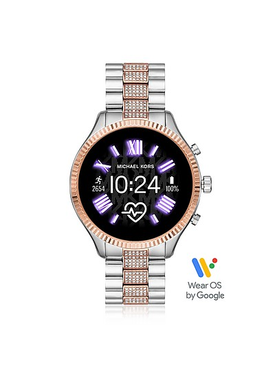 不锈钢列克星敦2.0智能手表 - Michael Kors
