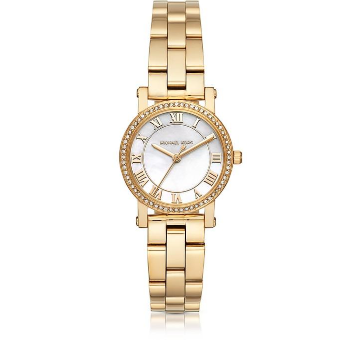 Reloj para Mujeres Petite Norie de Acero Dorado - Michael Kors