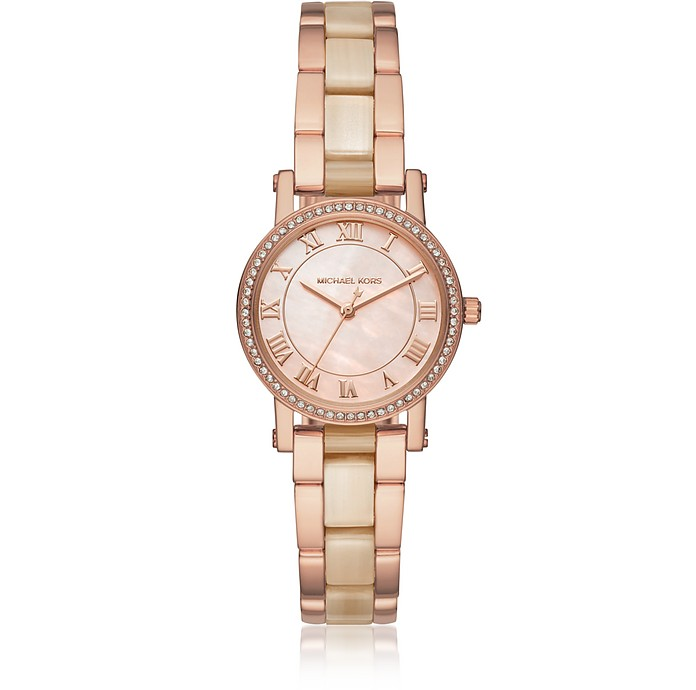 ce94c516f19b Petite Norie Rose Goldtone Stainless Steel Women s Watch - Michael Kors