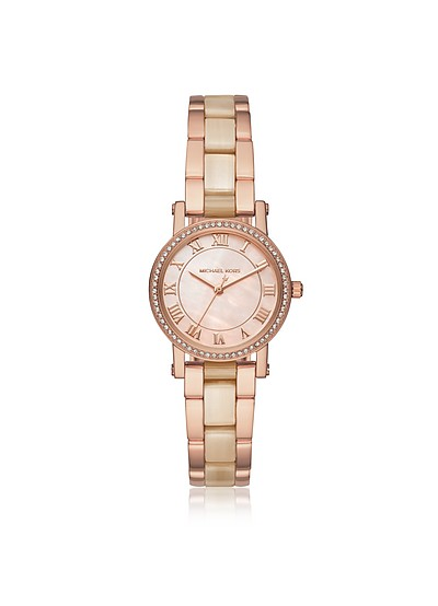 Petite Norie Rose Goldtone Stainless Steel Women's Watch - Michael Kors