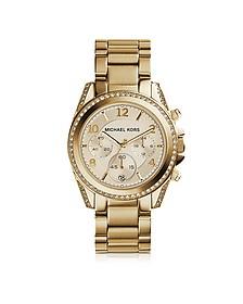 Blair Gold Tone Stainless Steel Women's Watch - Michael Kors