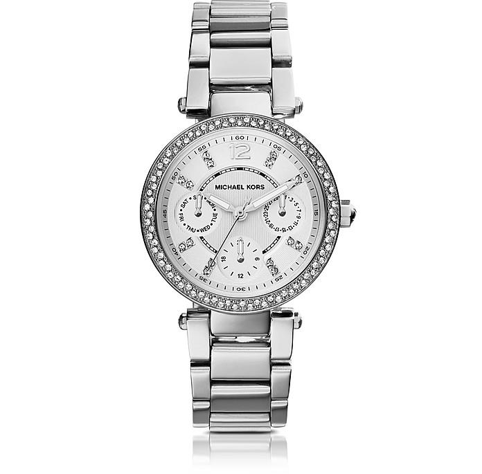 Reloj para Mujeres Parker de Acero Inoxidable y Cristales - Michael Kors