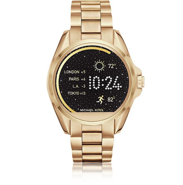 Gold-tone Stainlees Steel Bradshaw Women's Smartwatch  - Michael Kors
