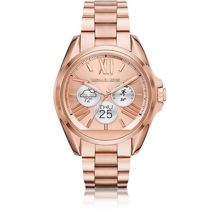 66fcc97d5130 Rose Gold-tone Stainless Steel Bradshaw Women s Smartwatch - Michael Kors.  AU 686.00 Actual transaction amount