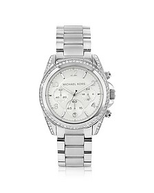 Silver Runway Watch with Glitz - Michael Kors