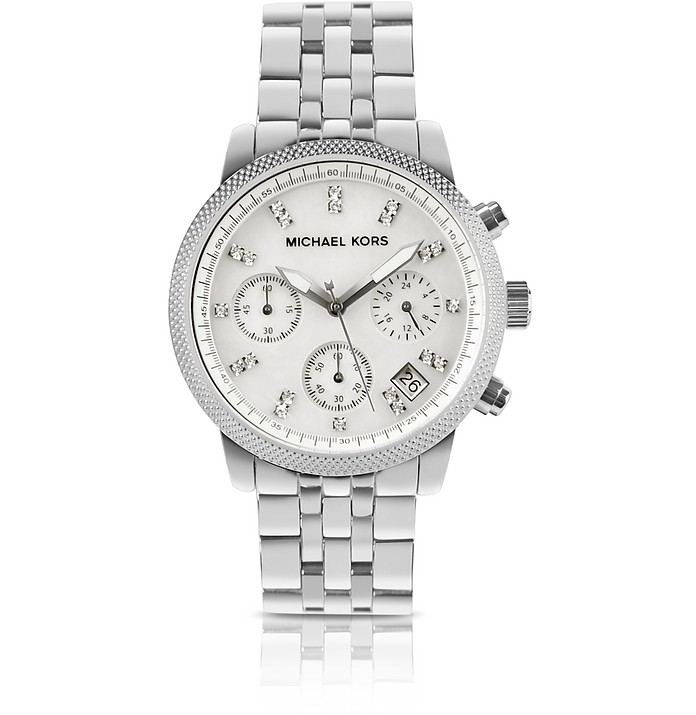 Silver Jet Set Watch - Michael Kors